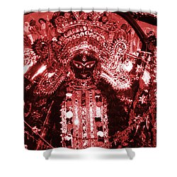 Durga Shower Curtain by Photo Researchers