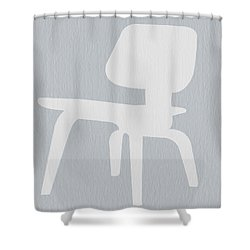 Eames Plywood Chair Shower Curtain by Naxart Studio