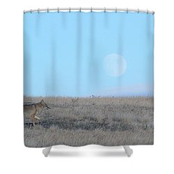 Early Hunt Shower Curtain