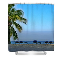 Shower Curtain featuring the photograph Early Morning Trinidad Cuba by Lynn Bolt