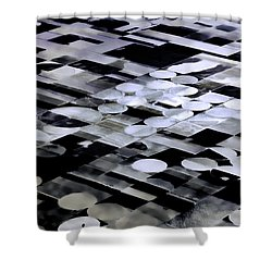 Earth Geometry2 Shower Curtain