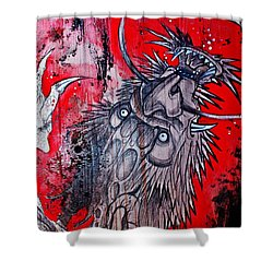 Earth Spirit Shower Curtain