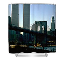 East River Tugboat Shower Curtain
