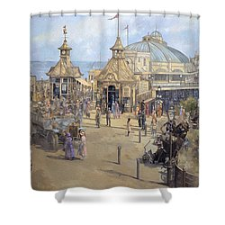 Eastbourne Shower Curtain by Peter Miller