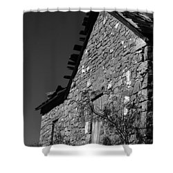 Shower Curtain featuring the photograph Echoes Of Another Time by Vicki Pelham