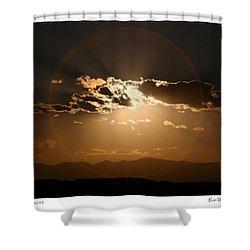 Eclipse 2012 Shower Curtain