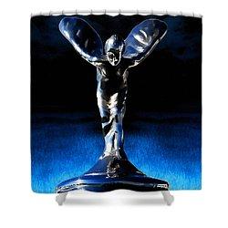 Ecstasy Shower Curtain by Douglas Pittman
