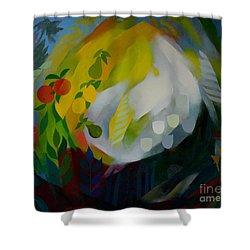 Eden Shower Curtain by Jukka Nopsanen