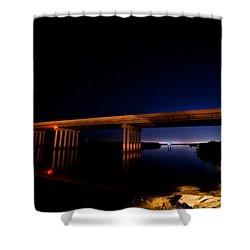 Edge Of Morning Shower Curtain by Christopher Holmes