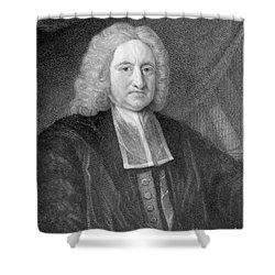 Edmond Halley, English Polymath Shower Curtain by Photo Researchers