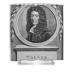 Edmund Waller (1606-1687) Shower Curtain by Granger