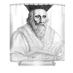 Edward Kelley, English Alchemist Shower Curtain by Science Source