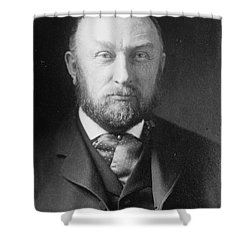 Edward Pickering, American Astronomer & Shower Curtain by Science Source