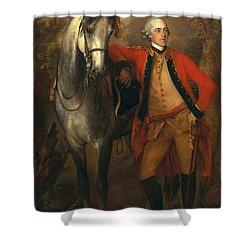 Edward Viscout Ligonier Shower Curtain by Thomas Gainsborough