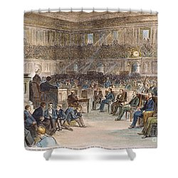 Electoral Commission, 1877 Shower Curtain by Granger