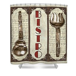 Elegant Bistro 1 Shower Curtain by Debbie DeWitt