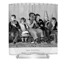 Elementary School Shower Curtain by Granger