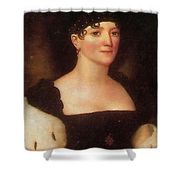 Elizabeth Monroe Shower Curtain by Photo Researchers