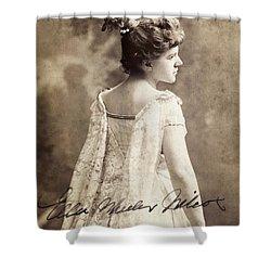 Ella Wheeler Wilcox Shower Curtain by Granger