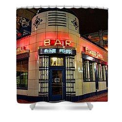Elwood Bar And Grill Detroit Michigan Shower Curtain by Gordon Dean II