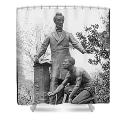 Emancipation Memorial, 1876 Shower Curtain by Granger