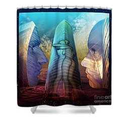 Embrace Tower Shower Curtain