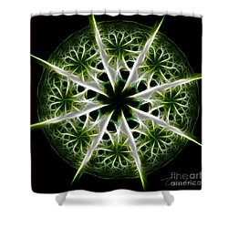 Emerald Tales Shower Curtain