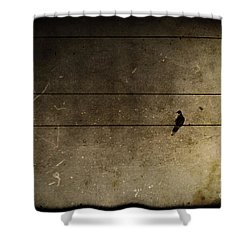Emotional Distance Shower Curtain by Andrew Paranavitana