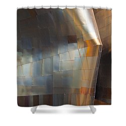 Emp Abstract Fold Shower Curtain