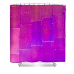Emp Metal Shower Curtain by Heidi Smith