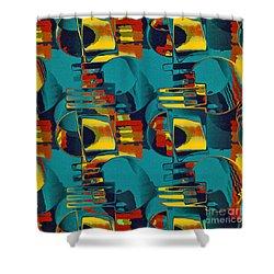En Formes 02 Shower Curtain by Aimelle
