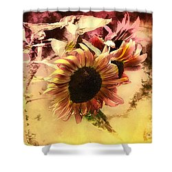 End Of Season Shower Curtain by Elaine Manley