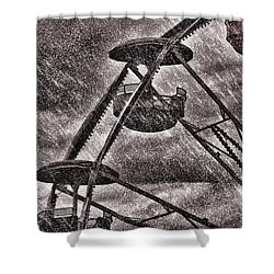 End Of The Season Shower Curtain by Bob Orsillo