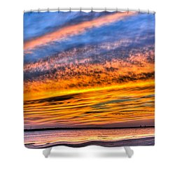 Endless Color Shower Curtain