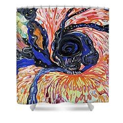 Energy Swirls Shower Curtain