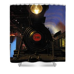 Engine No. 132 Shower Curtain by Keith Stokes