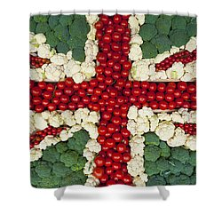 England Shower Curtain by Axiom Photographic