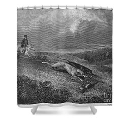 England: Coursing, 1833 Shower Curtain by Granger
