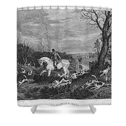 England: Fox Hunt, 1833 Shower Curtain by Granger