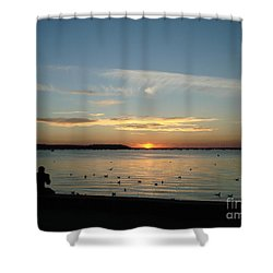 Shower Curtain featuring the photograph Enjoy by Katy Mei