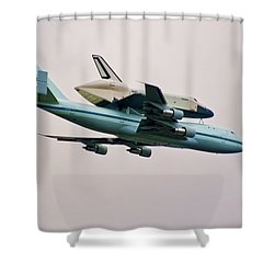 Enterprise 6 Shower Curtain by S Paul Sahm