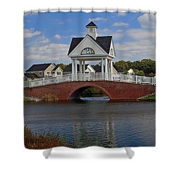 Entrance Shower Curtain by Karen Harrison