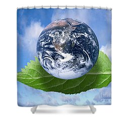 Environmental Issues Shower Curtain by Victor de Schwanberg  and Photo Researchers