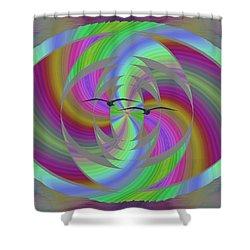 Equilibrium Shower Curtain by Tim Allen