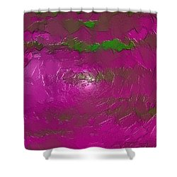 Erexon Shower Curtain by Jeff Iverson