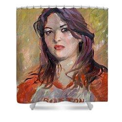 Eriola Shower Curtain by Ylli Haruni