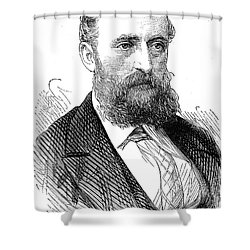 Ernest Giles (1835-1897) Shower Curtain by Granger
