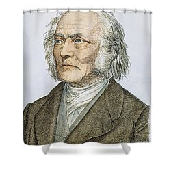 Ernst Heinrich Weber Shower Curtain by Granger