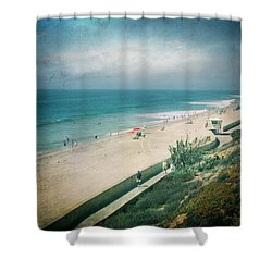 Escape For A Day Shower Curtain by Laurie Search