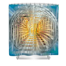 Escrow Vault Shower Curtain